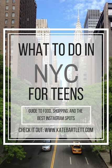 A complete guide to visiting New York City with teenagers! Discover the best places to eat, shop, and take Instagram photos in NYC!