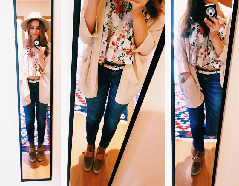 OOTD \ Flowers During Fall