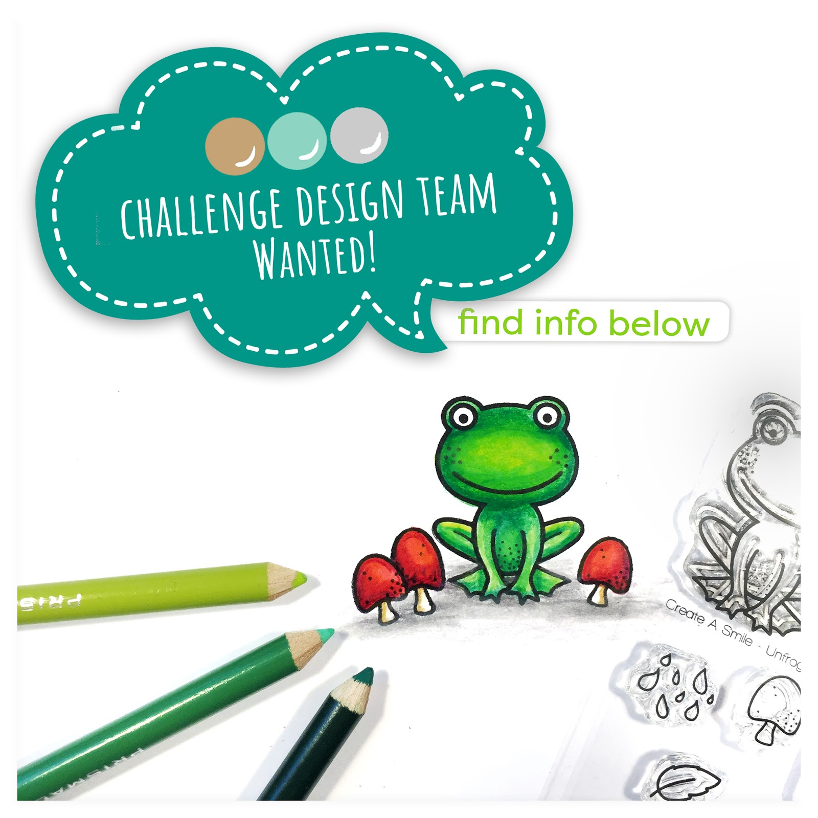 Challenge design team call | CREATE A SMILE
