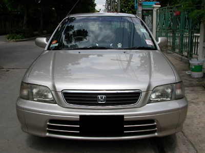 Eksterior Depan Honda City SX8