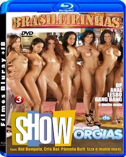 Brasileirinhas Show de Orgias DVDRip Torrent Download (2013)