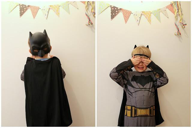 Kostuem Batman Superhero Superheld Kind Karneval Jules kleines Freudenhaus
