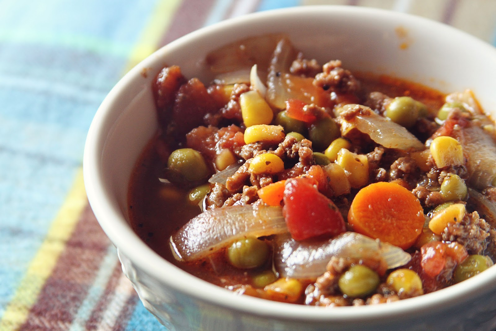 Hayseed Homemakin': My Autumn Vegetable Beef Soup