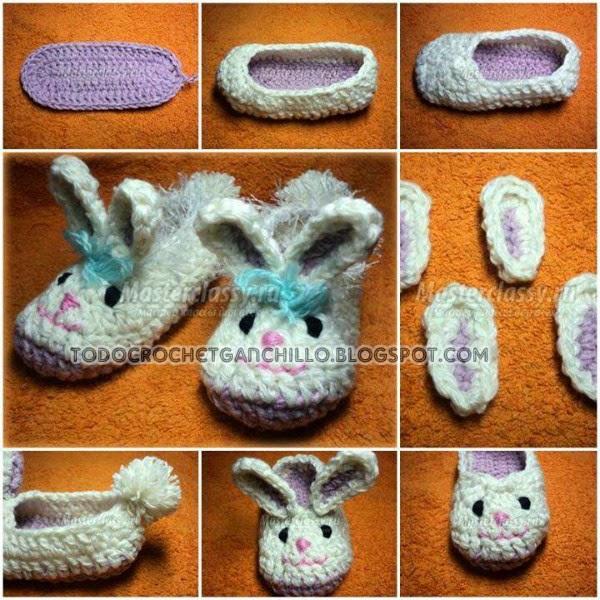 Como tejer patucos paso a paso con crochet