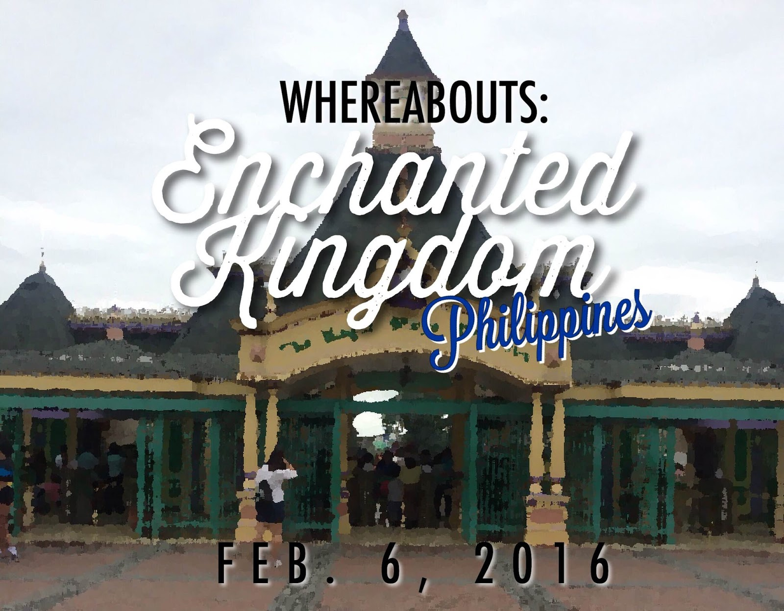 enchanted kingdom the magic stays here Enchanted kingdom is a theme park located in sta rosa city, laguna, philippines it is about 29 km away from manila the main entrance was resembles like disneyland just like what in disneyland movies and here it is.