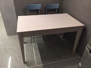 Mesa de cocina a medida en Zaragoza