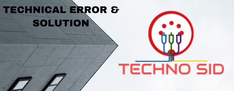 Techno Sid - Email Migration | Data Recovery | SEO | Technology | Android Tricks