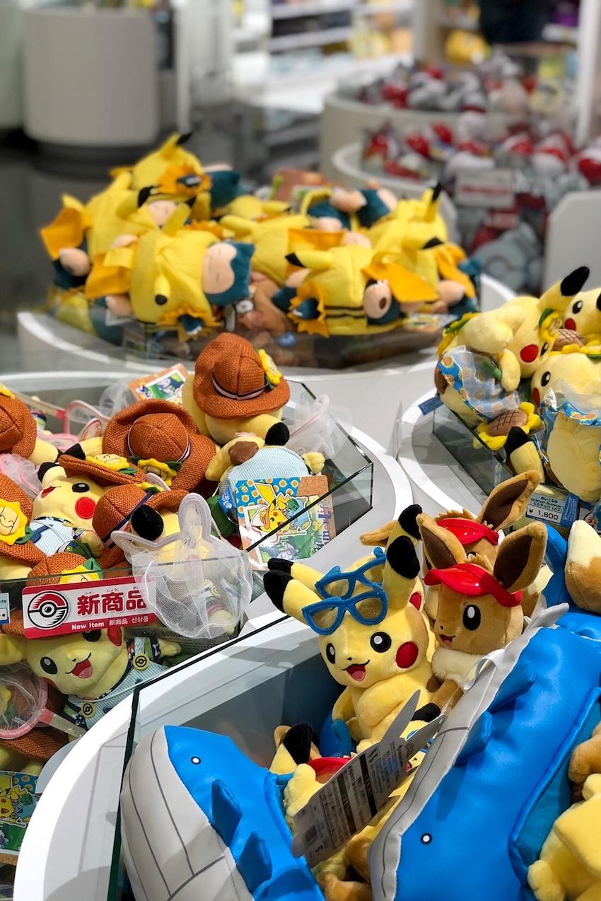 Pokemon Center DX Tokyo Plüsch