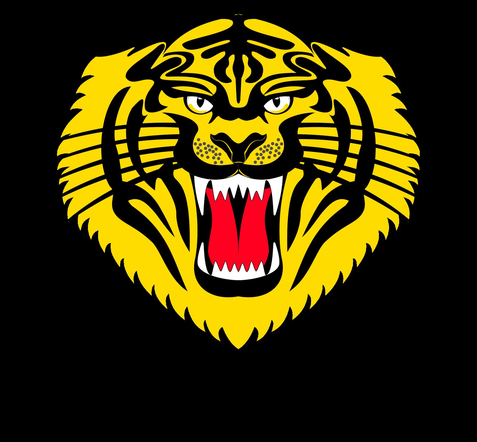 tiger head logo - HD1600×1484