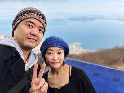 びわ湖テラス記念写真