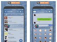 BBM iOS 6 v2.12.0.9 Minimalis dan Fitur Premium