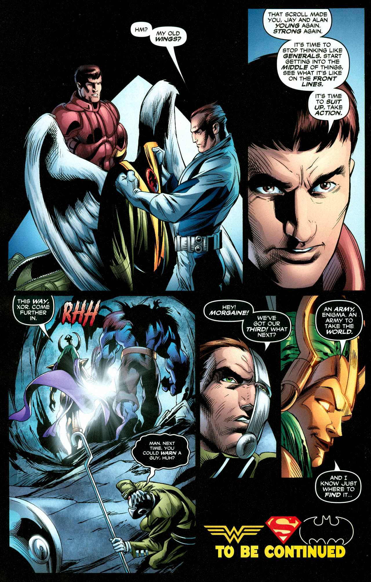 Read online Trinity (2008) comic -  Issue #27 - 17