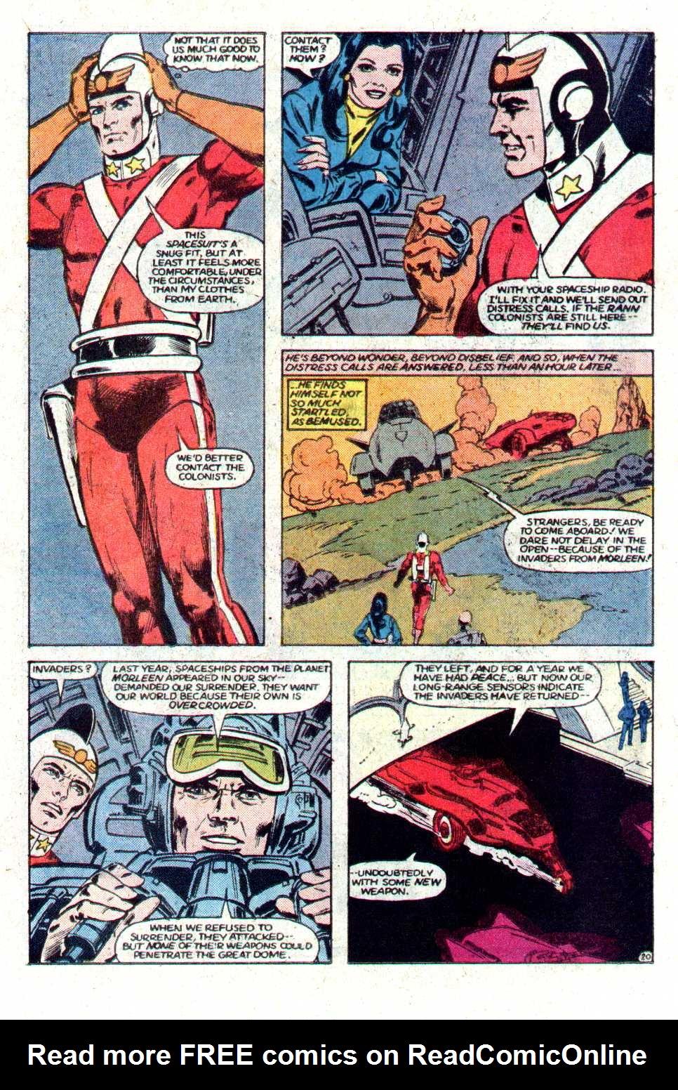 Read online Secret Origins (1986) comic -  Issue #17 - 21
