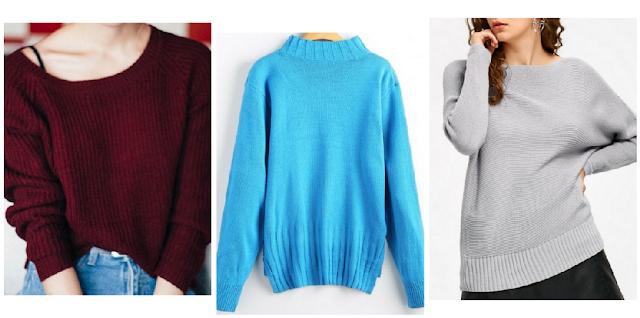 My Zaful Wishlist: Sweater Weather