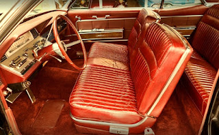 1966 Lincoln Continental Luxury Coupe Seat Front