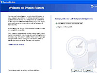 Create A System Restore Point In XP