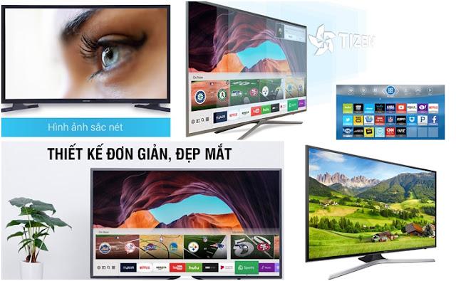 5 loại tivi Samsung bán chạy nhất 2018