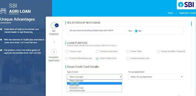 Sbi-kcc-form-online-application