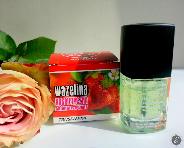 wazelina kosmetyczna truskawkowa kosmed