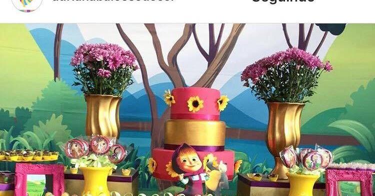 Masha e o Urso: galerias de ideias! — Guia Tudo Festa
