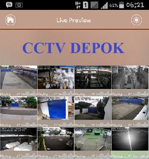 CCTV, CCTV Depok