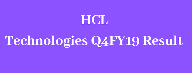 HCL Technologies Q4FY19 Result
