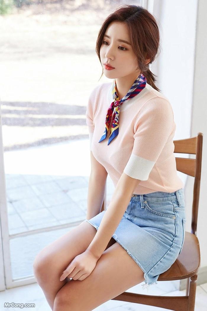 Image Kim-Jung-Yeon-MrCong.com-001 in post Người đẹp Kim Jung Yeon trong bộ ảnh thời trang tháng 3/2017 (195 ảnh)
