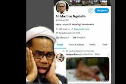"Tercyduk Retweet Video Porno di Twitter Ali Mochtar Ngabalin ""Khilaf"""