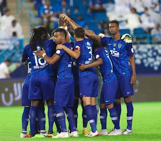 نتيجة وأهداف مباراة الهلال والوحدة في الدوري السعودي