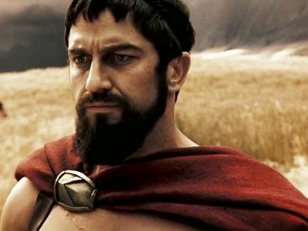 gerard butler 300 beard - photo #16