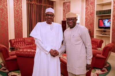 Buhari Reacts to Fayemi's Emergence As Governors Forum Chairman