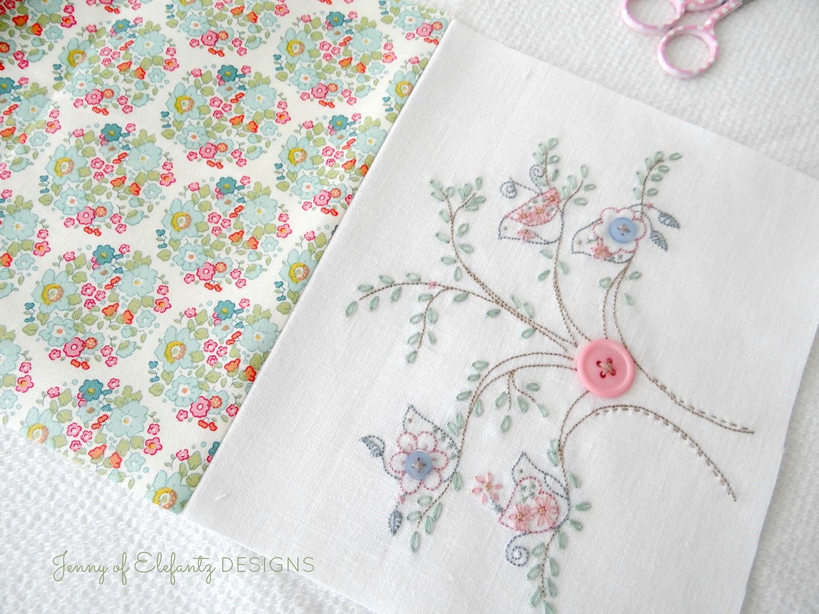 Jenny of ELEFANTZ: TUTORIAL - sweet and useful sewing caddy