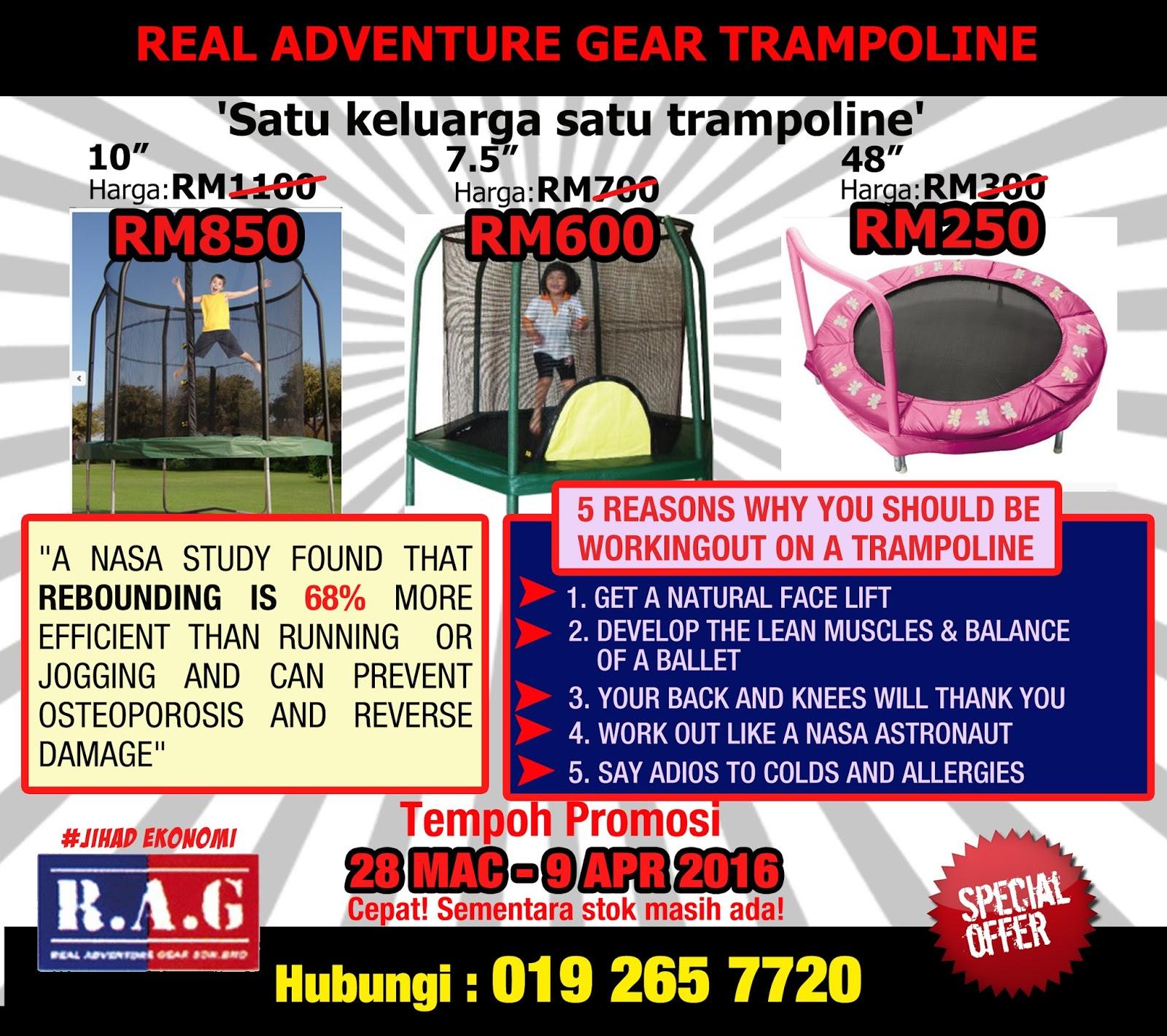 Trampoline Promotion Apr Onward Enerz Indoor Extreme Park April