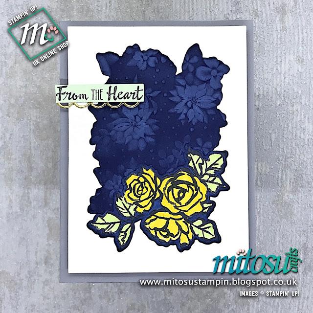 Petal Palette Stampin' Up! Card Idea. Order cardmaking supplies from Mitosu Crafts online shop 24/7