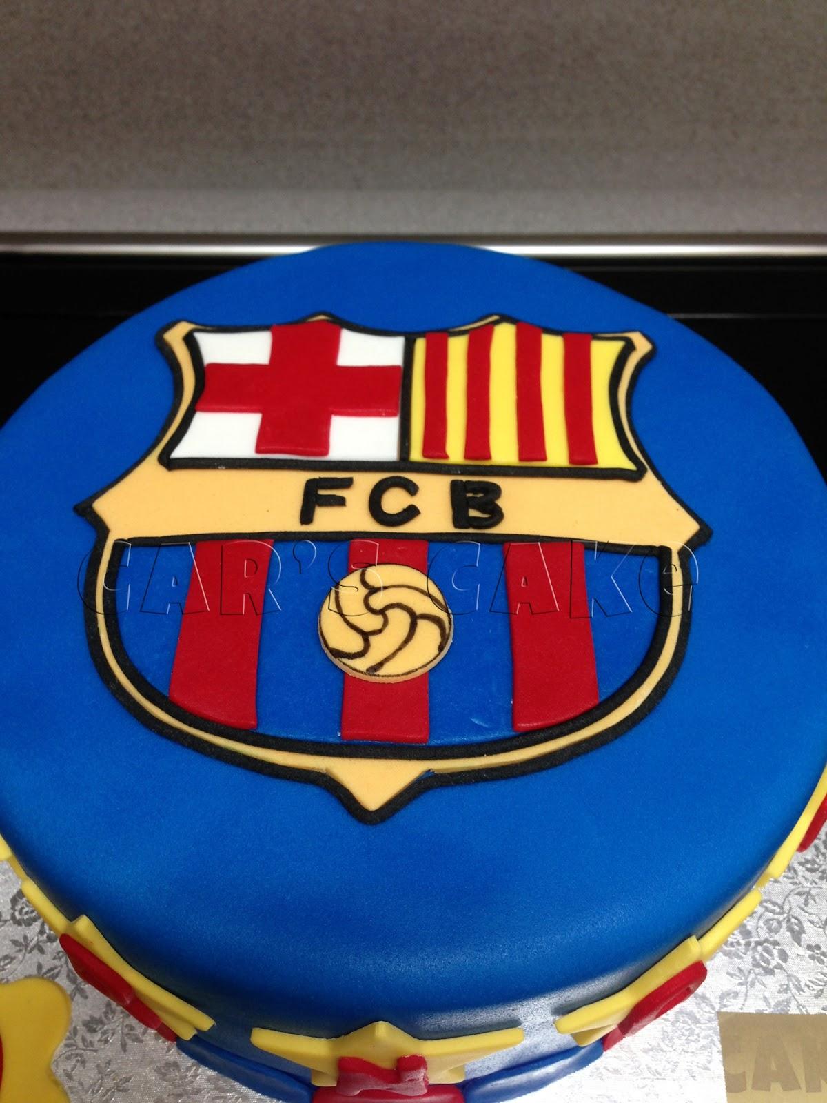 Car S Cake Tarta F C Barcelona