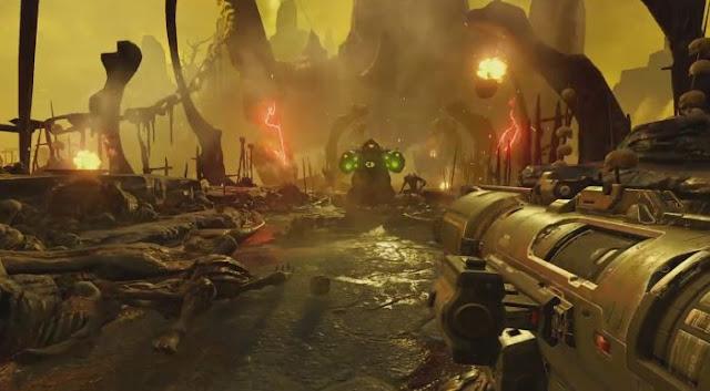 Doom 2016 gameplay