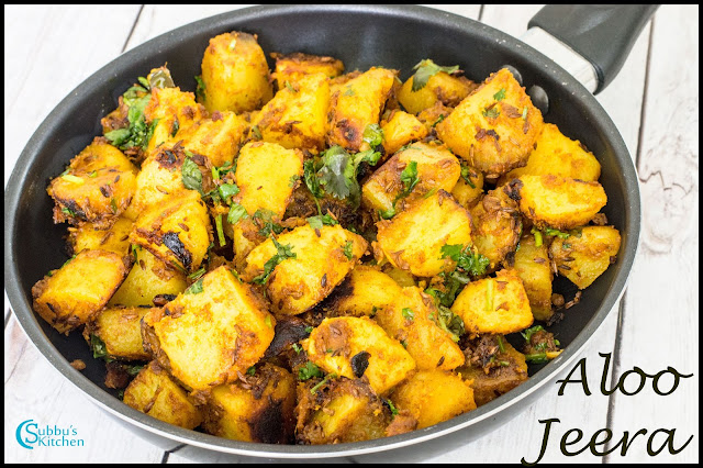 Aloo Jeera Recipe | Jeera Aloo Recipe | Potato with Cumin seeds Recipe