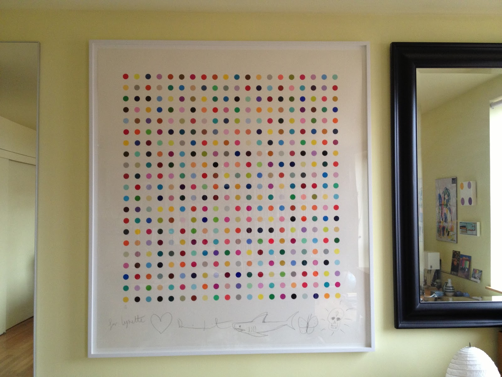 Damien Hirst Spot Challenge It 39 S Time To Collect