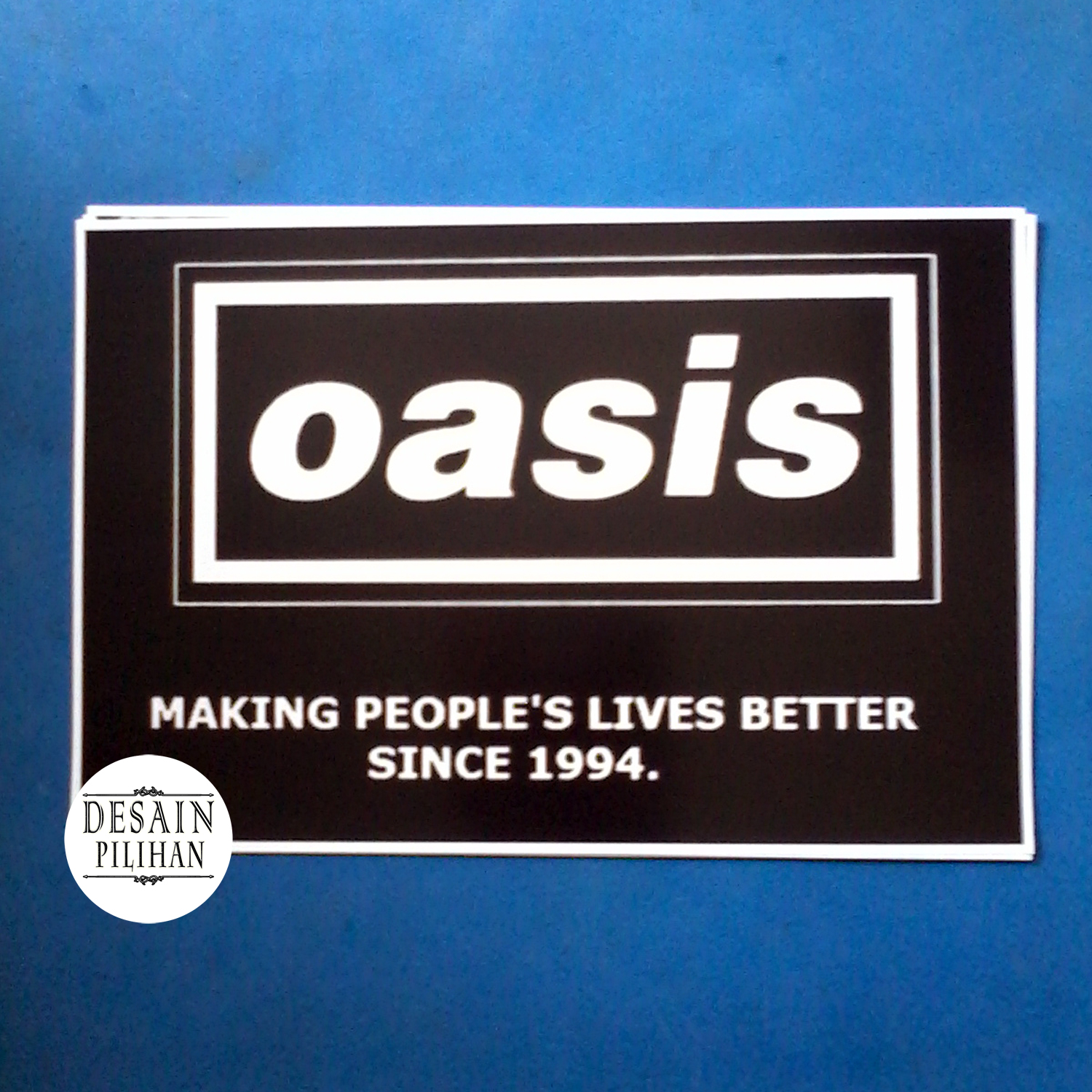 POSTER OASIS MAKING PEOPLE;S LIVES BETTER SINCE 1994