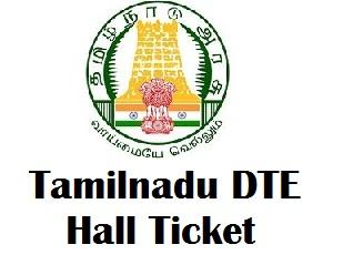 Tamilnadu DOTE Diploma Hall Ticket 2017