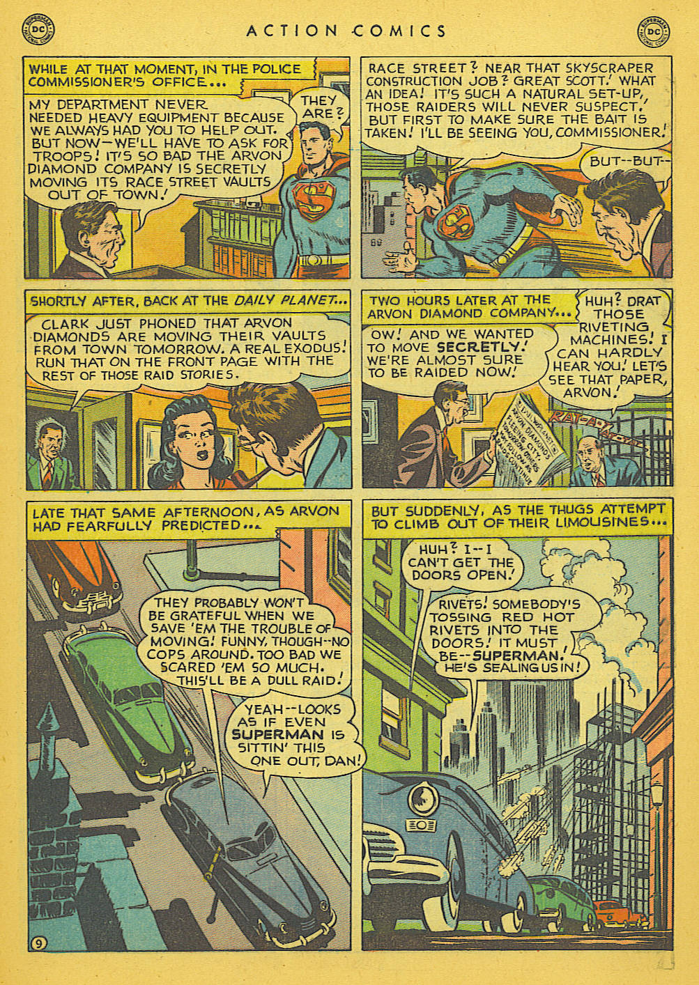 Read online Action Comics (1938) comic -  Issue #142 - 10