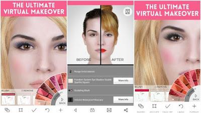 تطبيق YouCam Makeup للأندرويد, تطبيق YouCam Makeup مدفوع للأندرويد, تطبيق YouCam Makeup مهكر للأندرويد