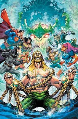 "Cómic: ""Justice League: Drowned Earth"" el próximo evento de DC Comics"