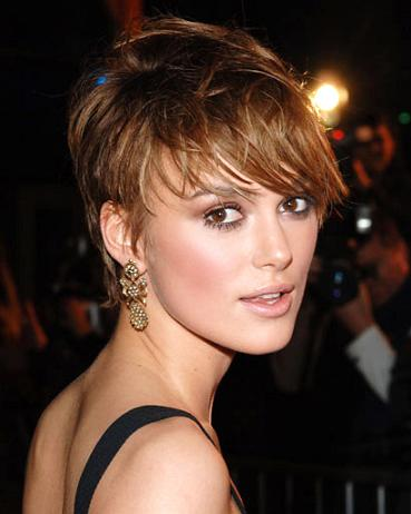 short tousled haircuts hairstyles a moment 4770 | Keira Knightley Tousled Short Cut Hairstyle