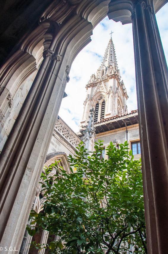 Claustro catedral de Santiago de Bilbao