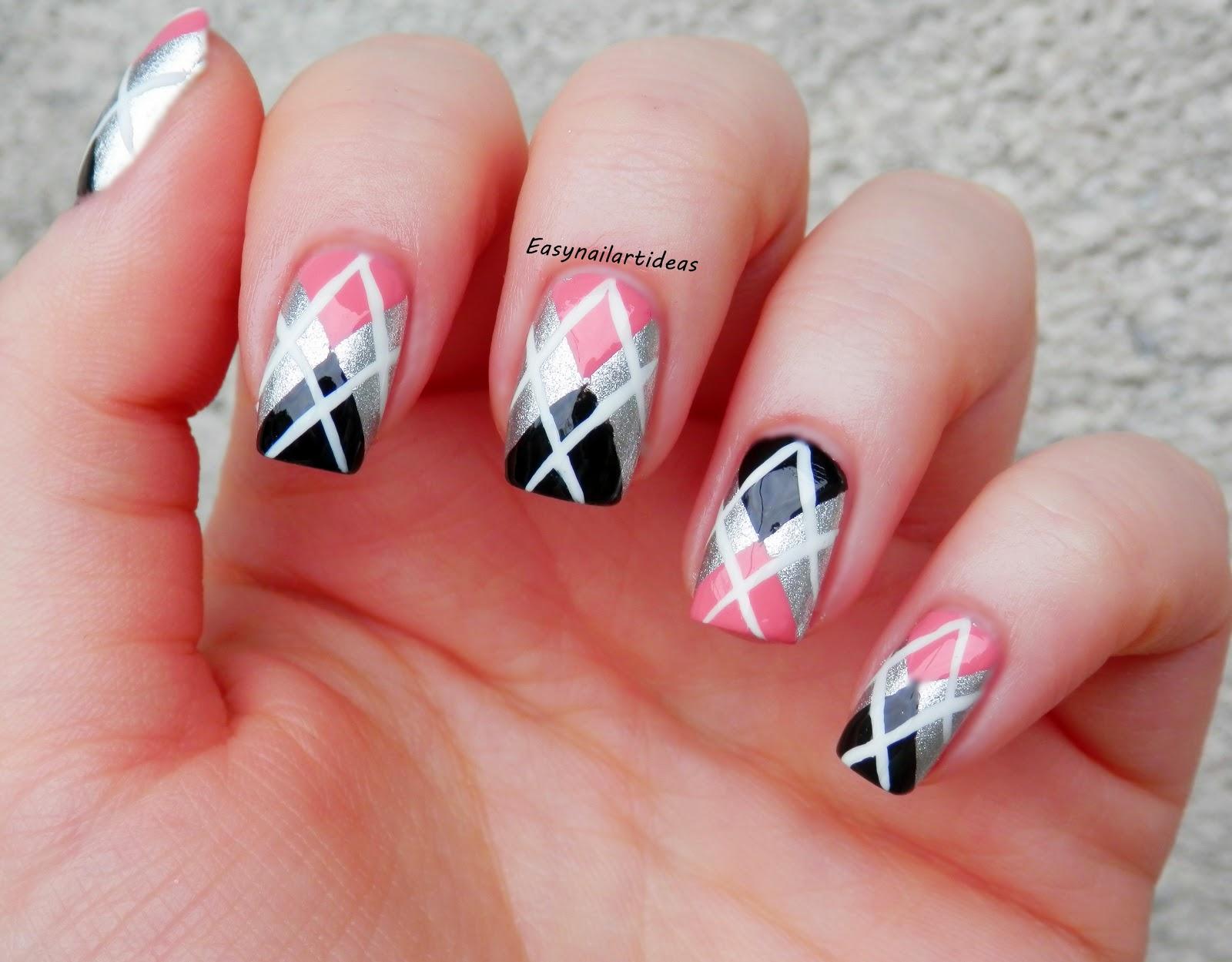 EASY NAIL ART and make-up IDEAS: Back to school nail art ...