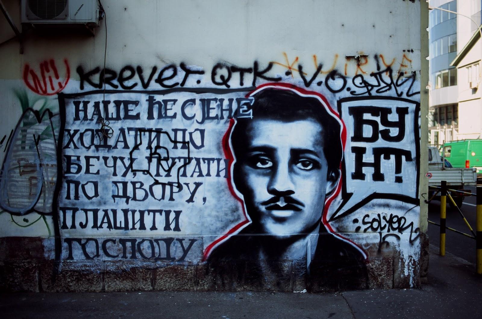 Graffiti in belgrade