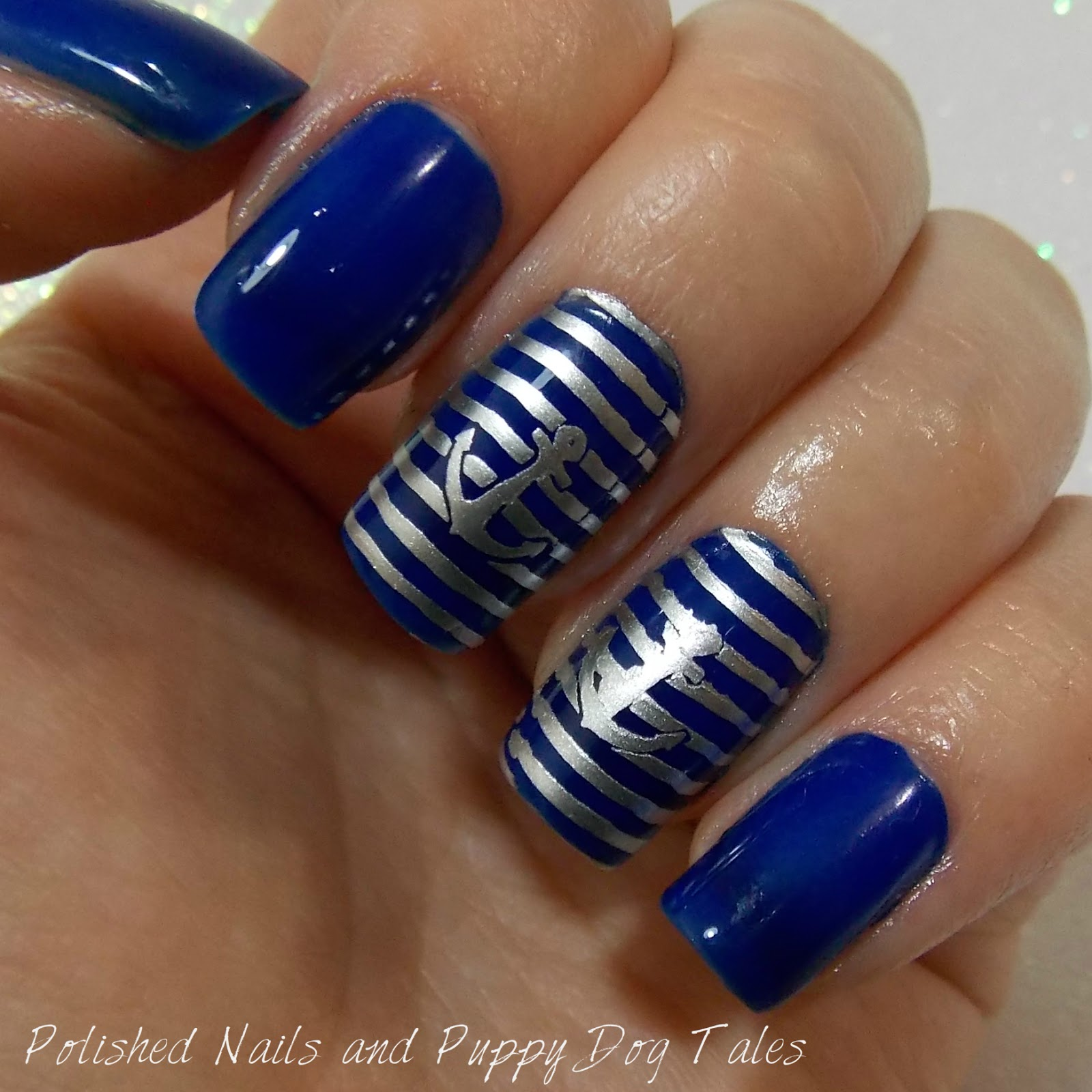 Polished Nails And Puppy Dog Tales 26 Great Nail Art Ideas Blue