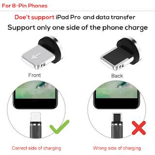 caricabatteria magnetico per iphone x