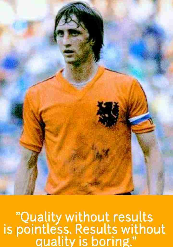BEST Johan Cruyff quotes on Lionel Messi